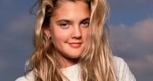 drew barrymore young headshot