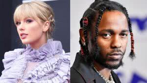 Taylor Swift and Kendrick Lamar