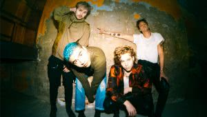 5SOS Image of Australian pop-rock outfit 5 Seconds Of Summer