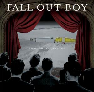 Fall Out Boy's 2nd album from May 3rd, 2005 – 'From Under The Cork Tree'