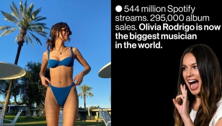 Olivia Rodrigo is now the biggest musician in the world