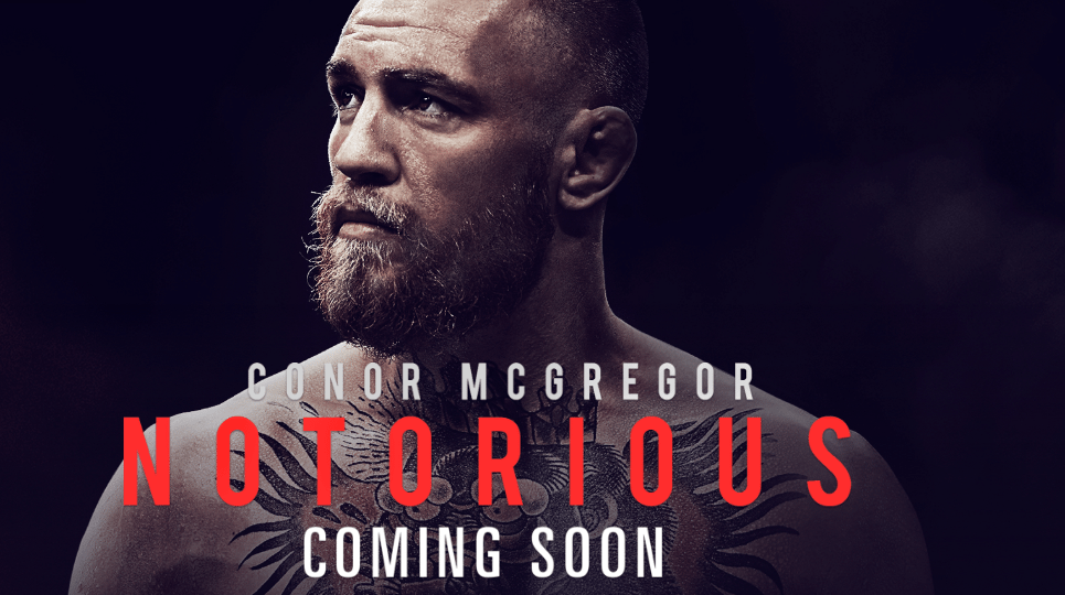 Poster for Conor McGregor's 'Notorious' film