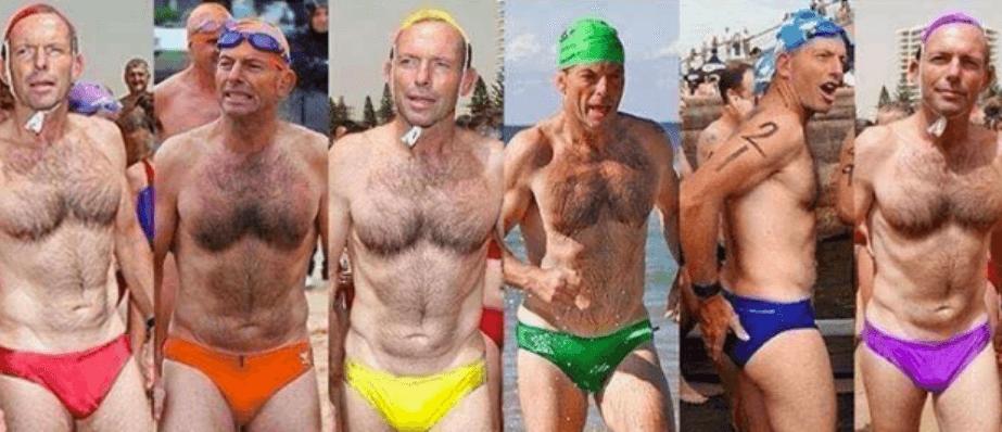 Tony Abbott rainbow