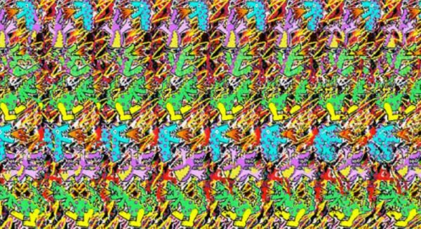 Why Can T Some People See Magic Eye Pictures An Investigation