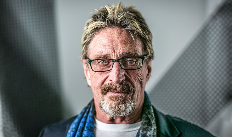 Tech millionaire John McAfee says he'll run for US President in 2020