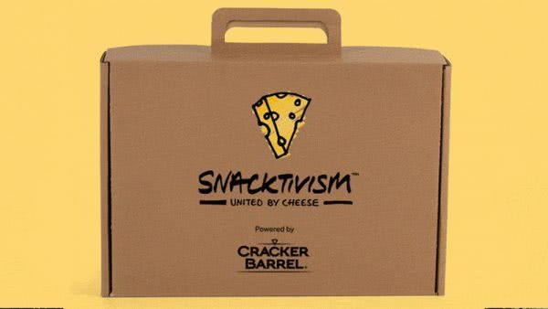 Snacktivism briefcase