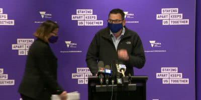VIctorian Premier Daniel Andrews on masks