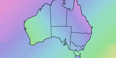 Australia Watercolour blend