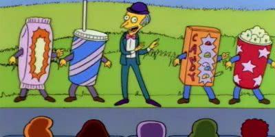 Mr Burns Movie Snacks