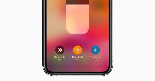 iphone night shift mode