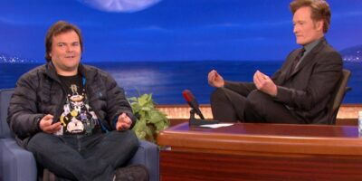 Jack Black will be the final guest to feature on Conan
