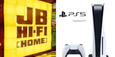JB Hi-Fi PS5