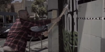 Watch The Tote Get Smashed Up By Axe Wielding Metal Band