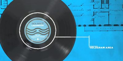 """Jack White Just Invented The World's First """"Ultra LP"""" Vinyl, And It Looks Insane"""