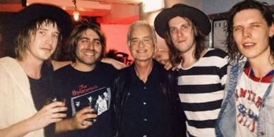 Aussie Band Gobsmacked After Jimmy Page Shows Up At Their Gig