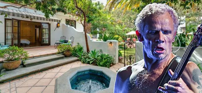 One Hot Mansion Inside The Home Of Red Hot Chili Peppers