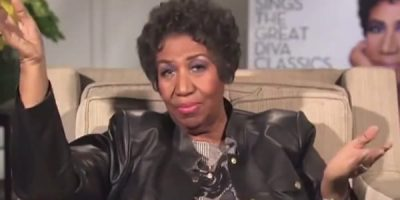 Watch Aretha Franklin Own TV Reporters In True Diva Style