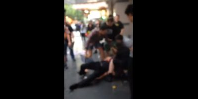 Fight Breaks Out During Palace Theatre Protest As City Seeks Emergency Protection