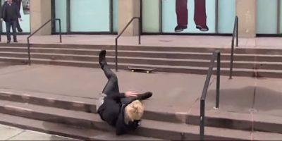 Justin Bieber Faceplanting On His Skateboard Is The Best Way To End 2014