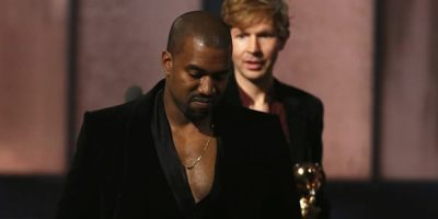 Kanye West Horrifies Everybody At The Grammys After Storming The Stage, Again