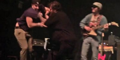 Action Bronson Shows Everyone How To Deal With A Stage Intruder