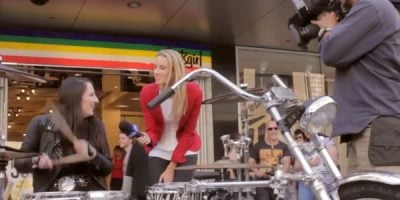 Aussie Drummer Breaks A World Record And It's All On Video