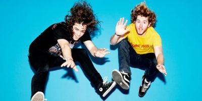 DZ Deathrays' Business Card Is The Perfect Way To Market Your Band