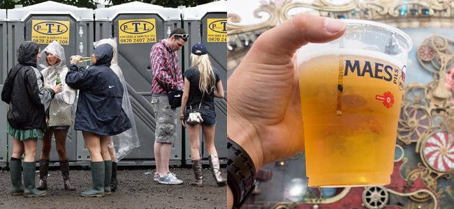 Music Festivals Are Turning Your Urine Into Beer & Selling It Back To You