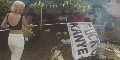 Punter Pissed After Glastonbury Campsite Vandal Turns Out To Be Lily Allen