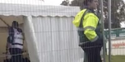 Music Festival Locks Performer In Cage After Mistaking Him For Gatecrasher