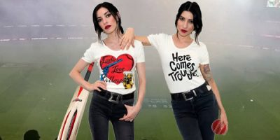 How The Veronicas Derailed The Cricket Over The Weekend