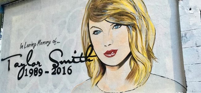 Melbourne Pays Respects To 'Late' Taylor Swift With New Mural