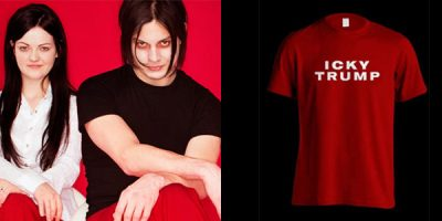 The White Stripes Are Selling 'Icky Trump' T-Shirts