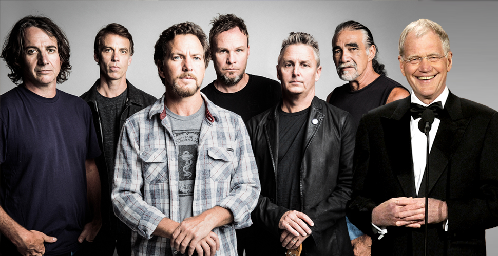 Pearl Jam to be inducted into the Rock and Roll Hall of Fame by… David Letterman