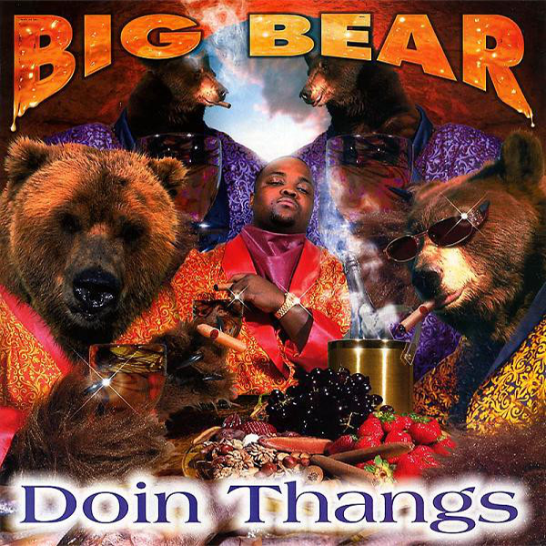 Album cover for Big Bear's 'Doin Thangs'