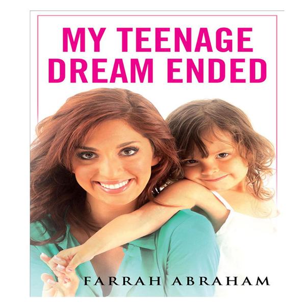Album cover for Farrah Abraham's 'My Teenage Dream Ended'