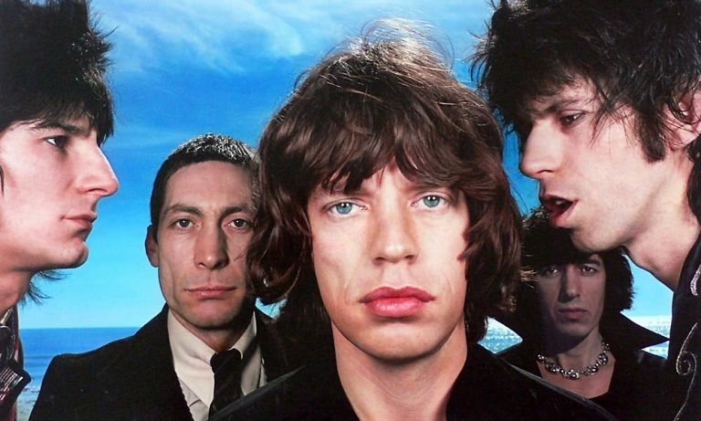 The Rolling Stones in their younger days