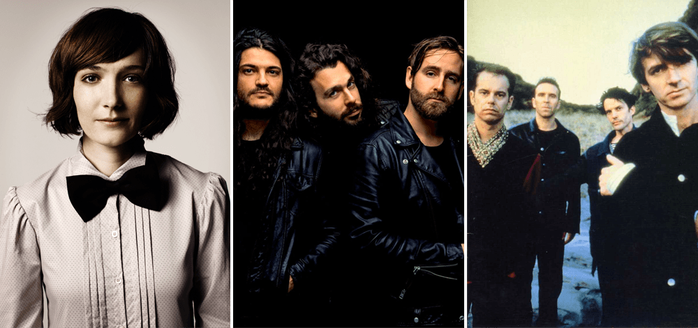 Bands whose second album was better than their first, including Sarah Blasko, Kingswood, and Crowded House