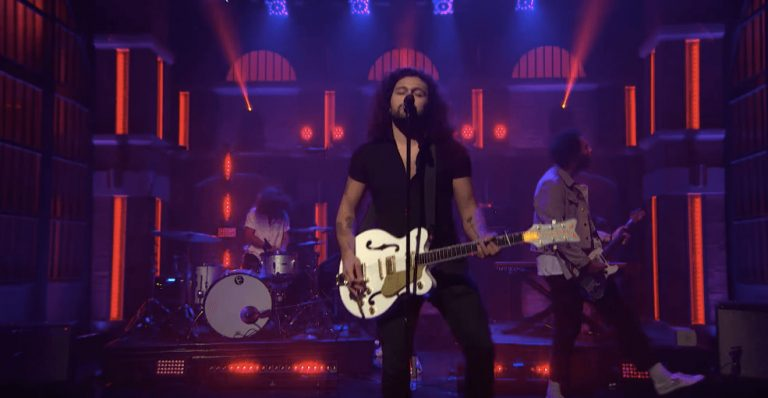 Watch Gang Of Youths' triumphant 'Late Night With Seth Meyers' debut