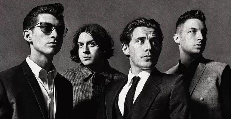 Promotional image of English rockers Arctic Monkeys