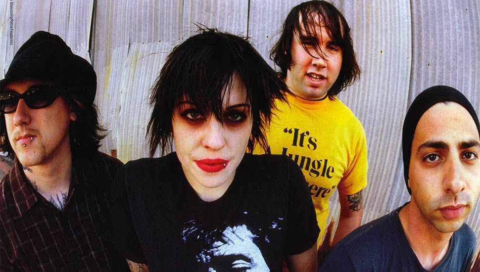 Punk icons The Distillers