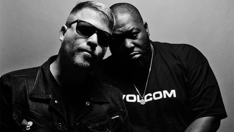US hip-hop duo Run The Jewels
