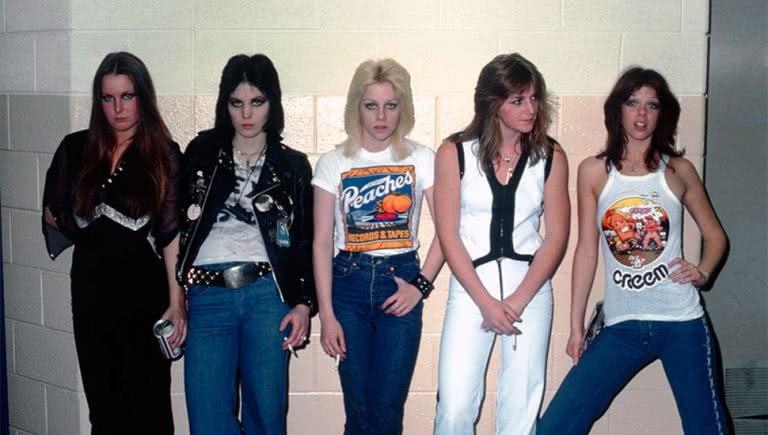 US punk pioneers The Runaways