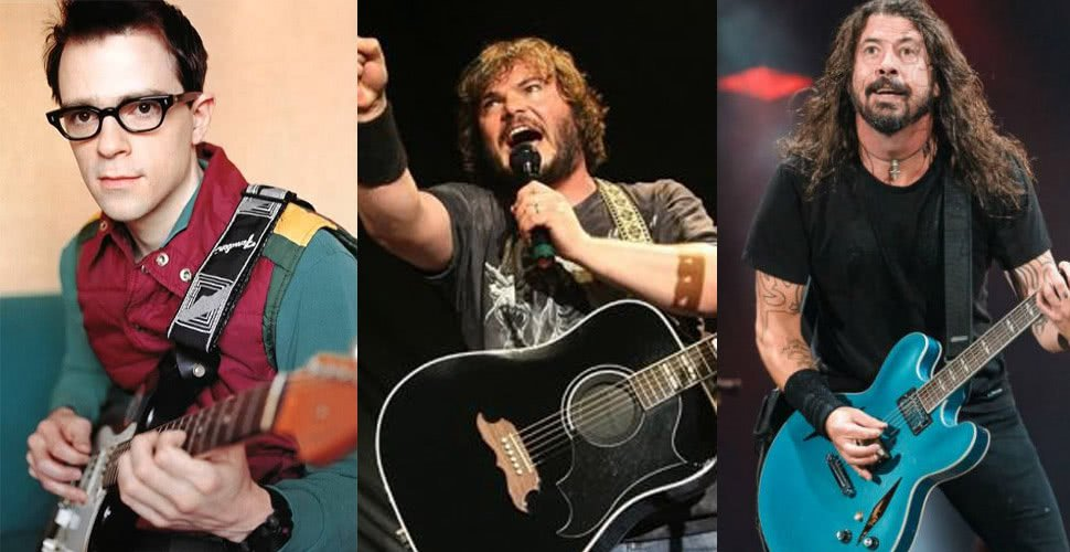 Foo Fighters have announced a tour with Weezer and Tenacious D