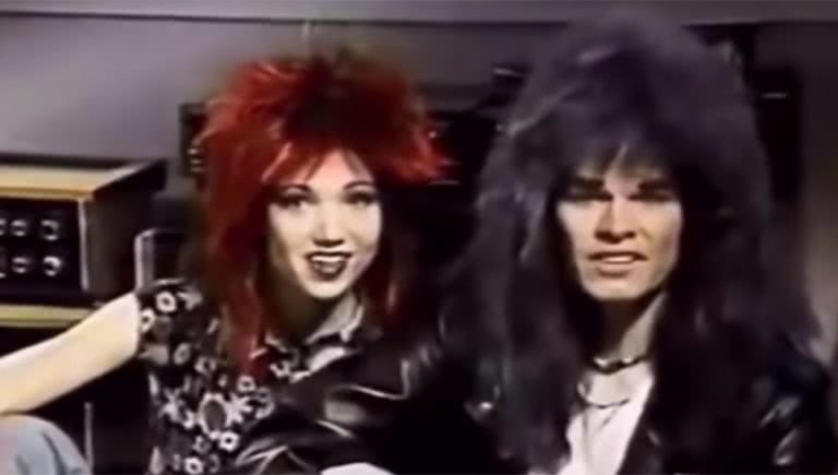 Screenshot of the hilariously out of touch commercial for a compilation called 'Punk'