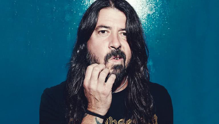 Photo of Foo Fighters frontman Dave Grohl