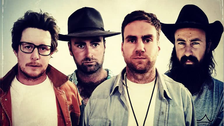 Image of Aussie rock outfit Dip Road Dogs