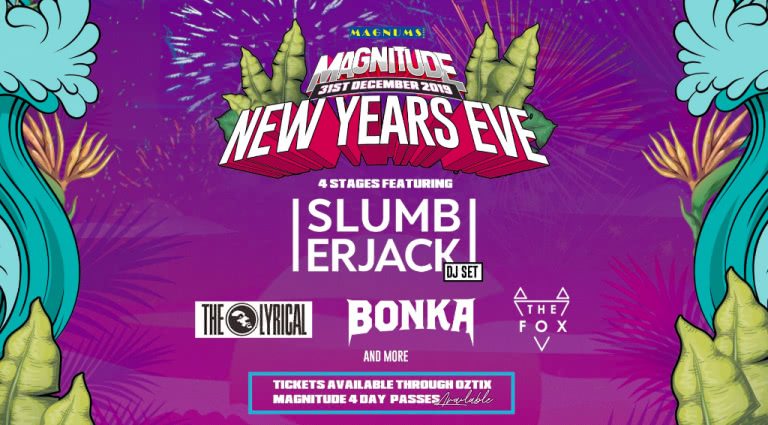 Tickets to Slumberjack's Magnitude NYE set are 50% off for Boxing Day
