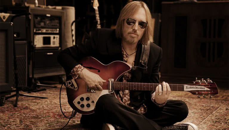 Image of late musician Tom Petty