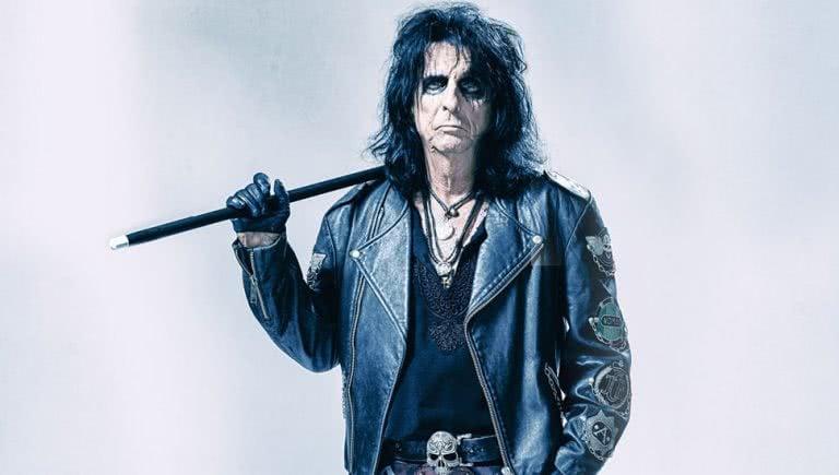 Image of US rock icon Alice Cooper